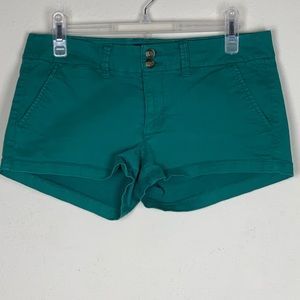 American Eagle- Green Shorts size 6